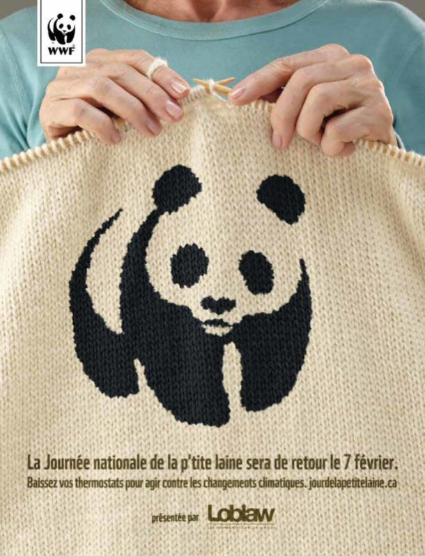 Journée nationale de la p'tite laine du WWF-Canada