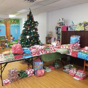 Nous sommes prêts pour la distribution de cadeaux, samedi 12 décembre2020