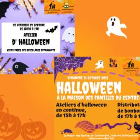 Halloween à la Maison des familles duCentre-Sud